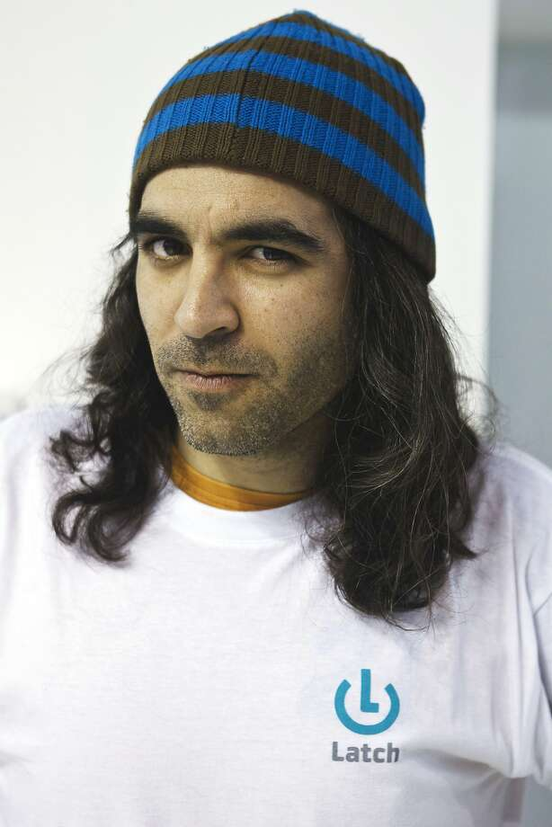 There's an influx of T-shirts advertising startups with one-word names. Photo: Angel Navarrete, Bloomberg