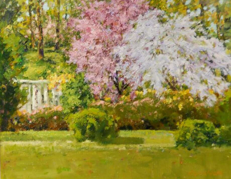 "Get into the spirit of the season with the exhibition, ""Celebrating Spring: The Florals of Judith Carbine,"" at Geary Gallery, 576 Boston Post Road, Darien, on Friday and Saturday, 9:30 a.m.-5 p.m. 203-655-6633, gearygallery.com."