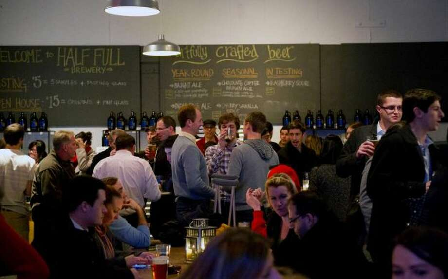 Beer nerds take heed! Go for a tour and tasting at Half Full Brewery , 43 Homestead Ave, Stamford, on Saturday, March 22, 1-5 p.m. 203-658-3631, halffullbrewery.com.
