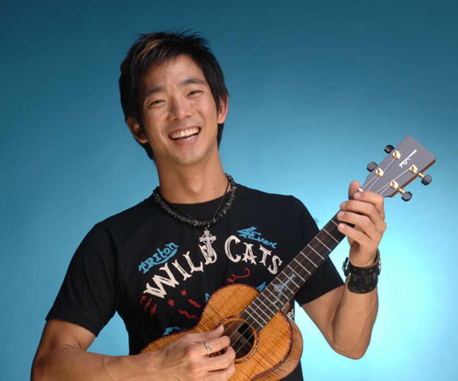 Ukulele virtuoso Jake Shimabukuro performs at Ridgefield Playhouse, 80 E. Ridge on Sunday, March 23 at 8 p.m. $47.50. 203-438-5795, ridgefieldplayhouse.org.