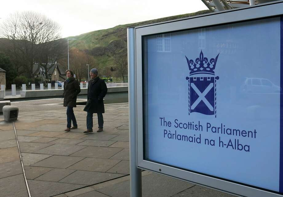 Scotland will vote in a few months  on seceding from Great Britain. Photo: Jill Lawless, Associated Press