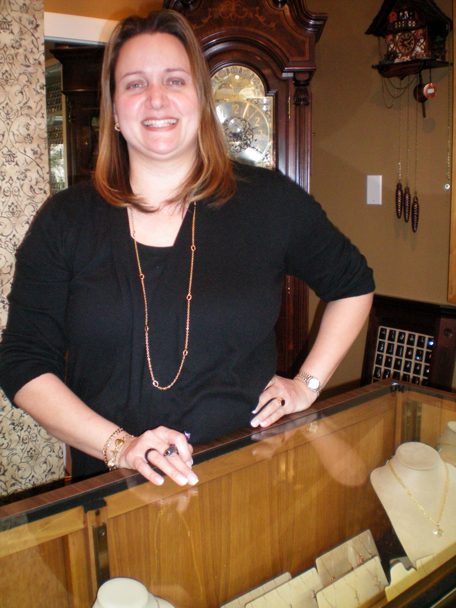 Family run jewelry store in old greenwich still a gem for Jewelry stores in ct