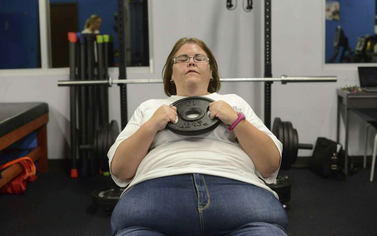 """Once proud to be a """"big beautiful woman,"""" Whitworth, who starred in TLC's """"My 600-lb Life,"""" now works out regularly."""
