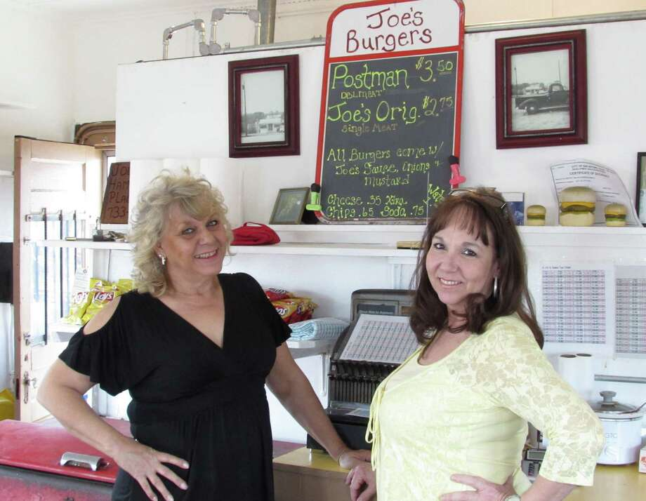 Susan Prochnow (left) owns Joe's Hamburger Place, which is run by Marcy Lubianski. You got a problem with that? Photo: Burt Henry / San Antonio Express-News