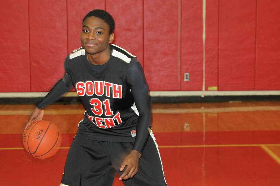 Stamford native Schadrac Casimir of the South Kent School has comitted to play basketball at Iona College. March 2014. Photo: Contributed Photo / Stamford Advocate Contributed