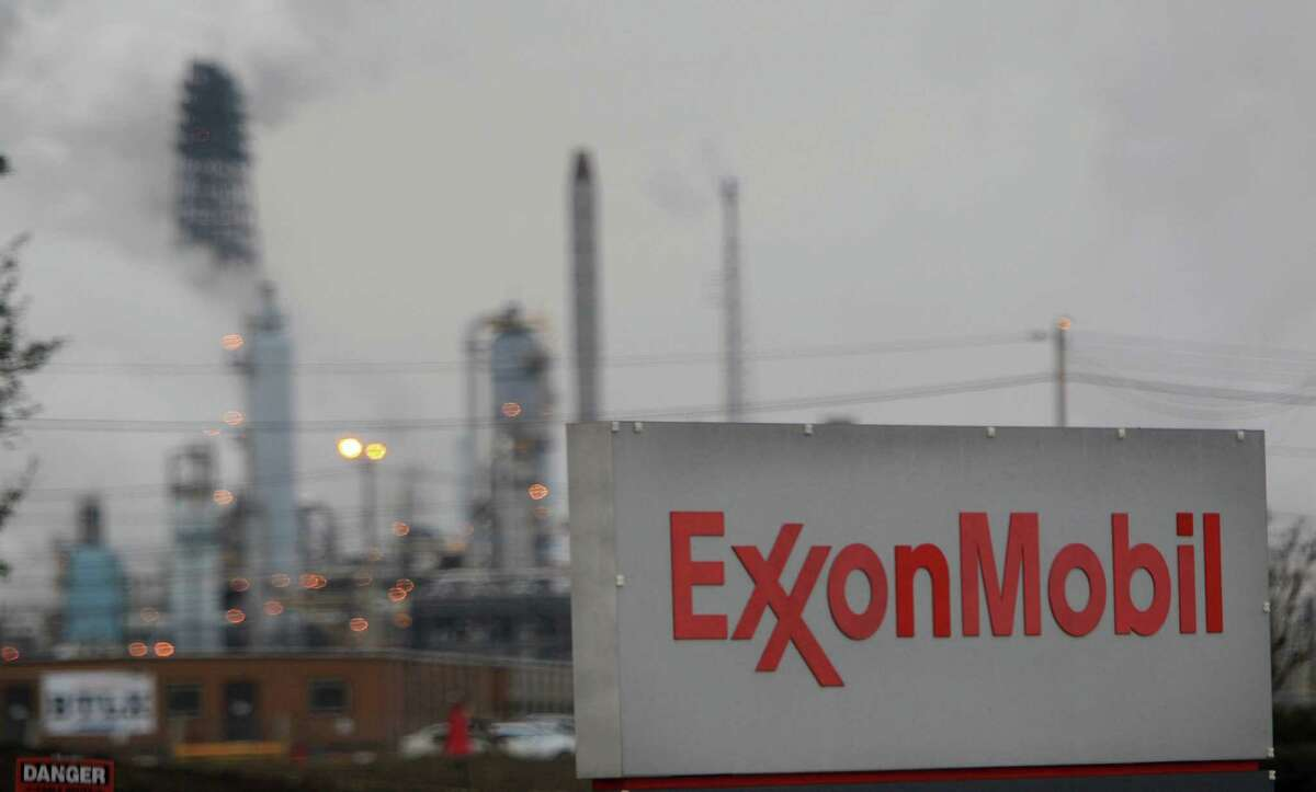 Exxon Mobil's Corp's Baytown complex is seen in 2014.