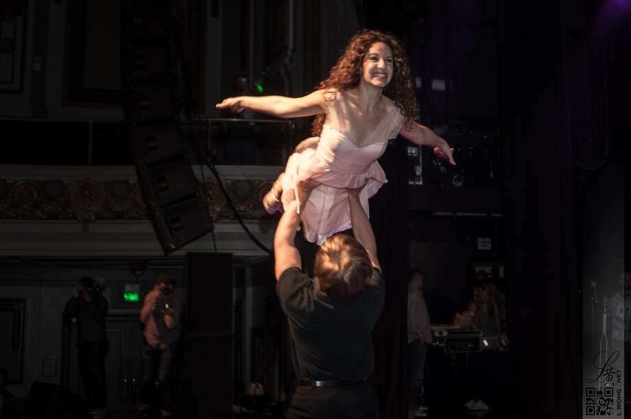 "The ""Dirty Dancing"" reenactment got the first perfect score in Mr. Marina history. Photo: Larry Wong Photography"