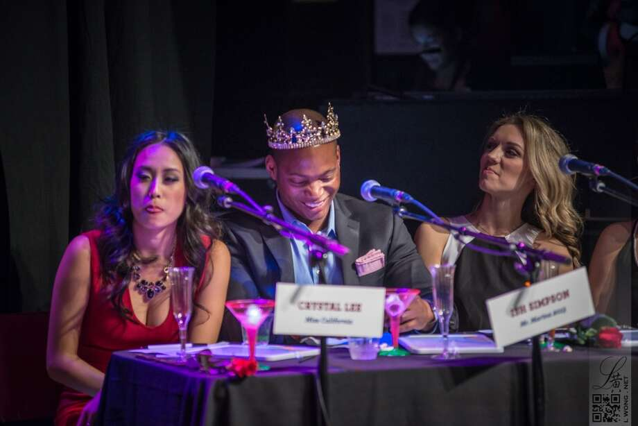 "The judging panel included Ish Simpson (Mr. Marina 2013), Kat Hurd (""The Bachelor 18""), Crystal Lee (Miss California) and Michelle Hansen (Senior Director of Special Events for The Leukemia & Lymphoma Society). Photo:  Larry Wong Photography"