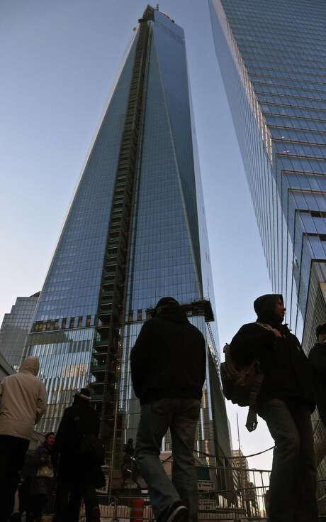 A 16-year-old is in jail after bypassing security and reaching the top of the World Trade Center. Photo: Associated Press / AP