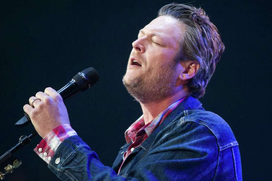 Blake Shelton performs at Reliant Stadium during the Houston Livestock Show and Rodeo, Thursday, March 20, 2014, in Houston. Photo: Marie D. De Jesus, Houston Chronicle / © 2014 Houston Chronicle