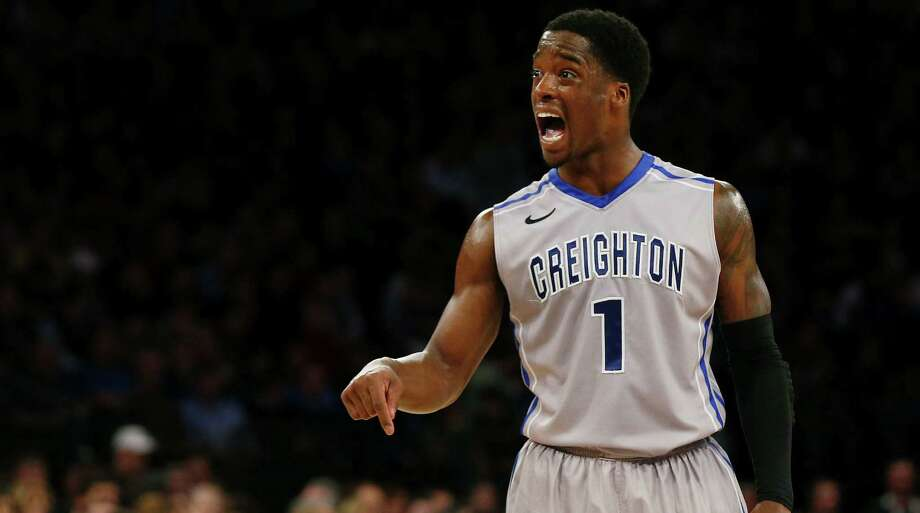 Creighton guard Austin Chatman returns to his home state to start the NCAA tournament. Photo: Jim McIsaac / Getty Images / 2014 Getty Images