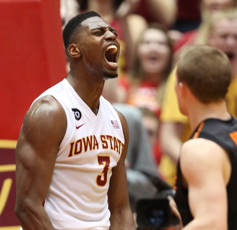 Iowa State forward Melvin Ejim has recorded 10 double-doubles this season. Photo: Justin Hayworth, Associated Press / FR170760 AP