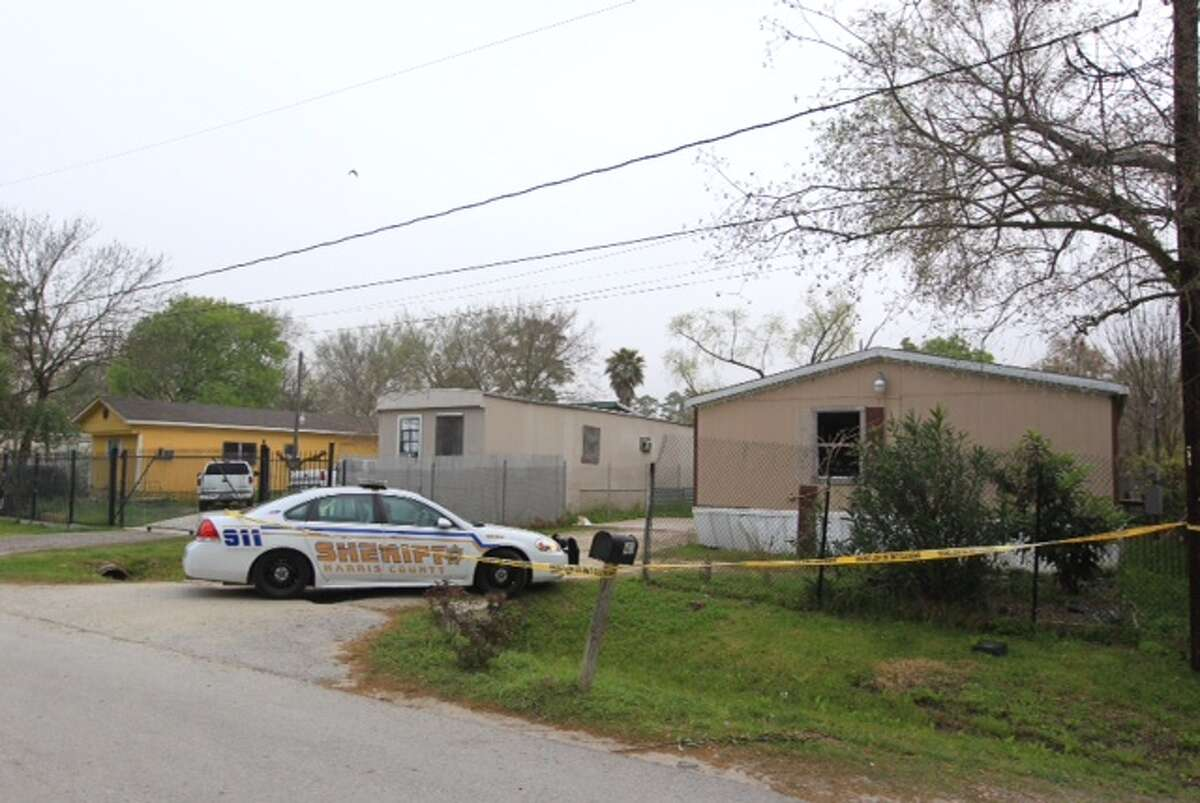 Officers responded to shots fired at an east Harris County home early Friday morning.