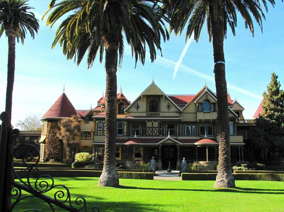 Winchester Mystery House can be toured as an entertainment attraction Photo: Zillow.com/ Flickr User Harshlight