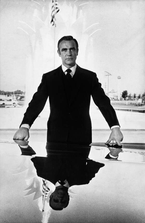"Sean Connery as 007 secret agent James Bond during a break in filming ""Diamonds Are Forever"" in Los Angeles in 1971. Photo: Terry O'Neill"