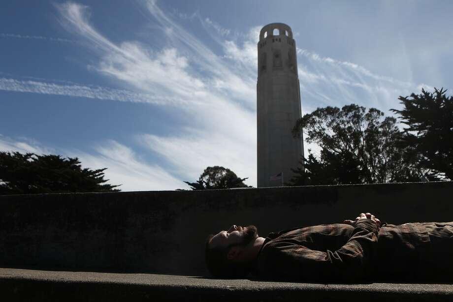 San Francisco's Coit Tower. Photo: Leah Millis, The Chronicle