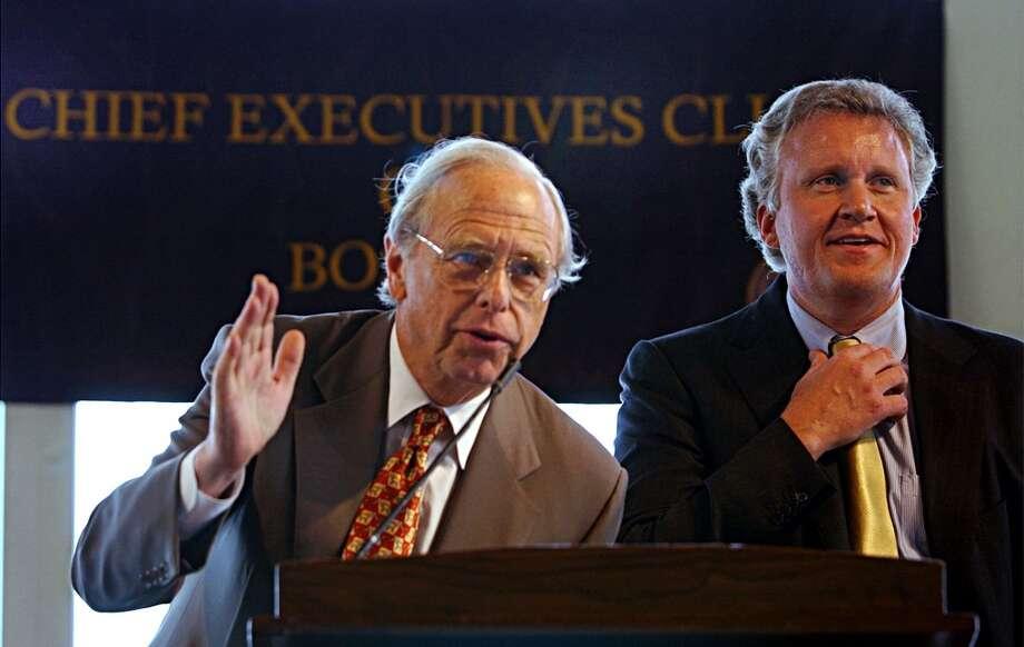 "15. Edward C. ""Ned"" Johnson, III (left)Company: Fidelity Investments Approval rating: 93% Photo: Chitose Suzuki, AP"
