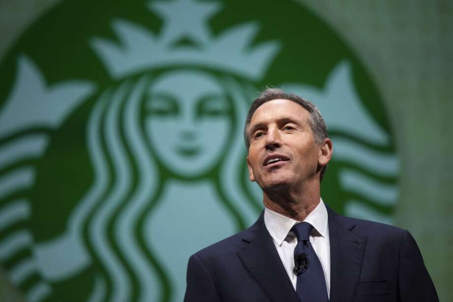 9. Howard D. SchultzCompany: Starbucks Approval rating: 93% Photo: DAVID RYDER, Reuters