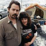 Mike and Pamela McMillen sold their Harley motorcycle and everything they could to come to Alaska to find a job helping clean up the Exxon Valdez oil spill.