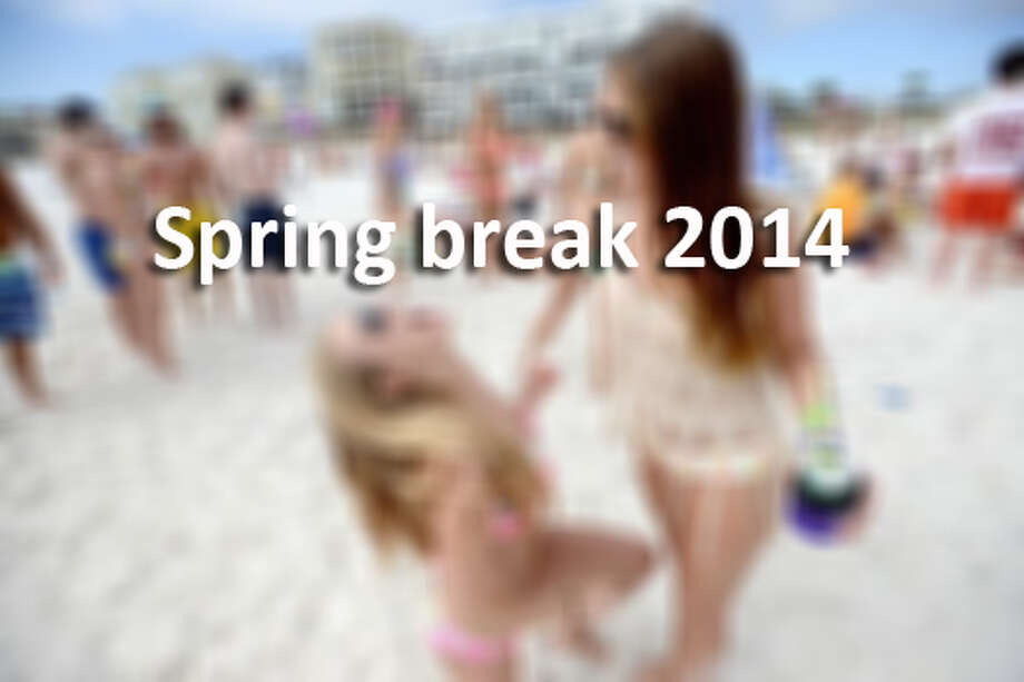 Published 12:52 pm, Friday, March 21, 2014. 2. Spring breakers ...