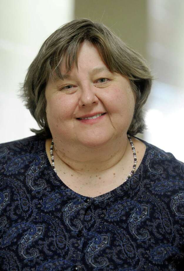 Kimberly Bosley, pastor of the United Methodist Church on Clapboard Ridge Road in Danbury, Conn., Tuesday, March 18, 2014. Photo: Carol Kaliff / The News-Times