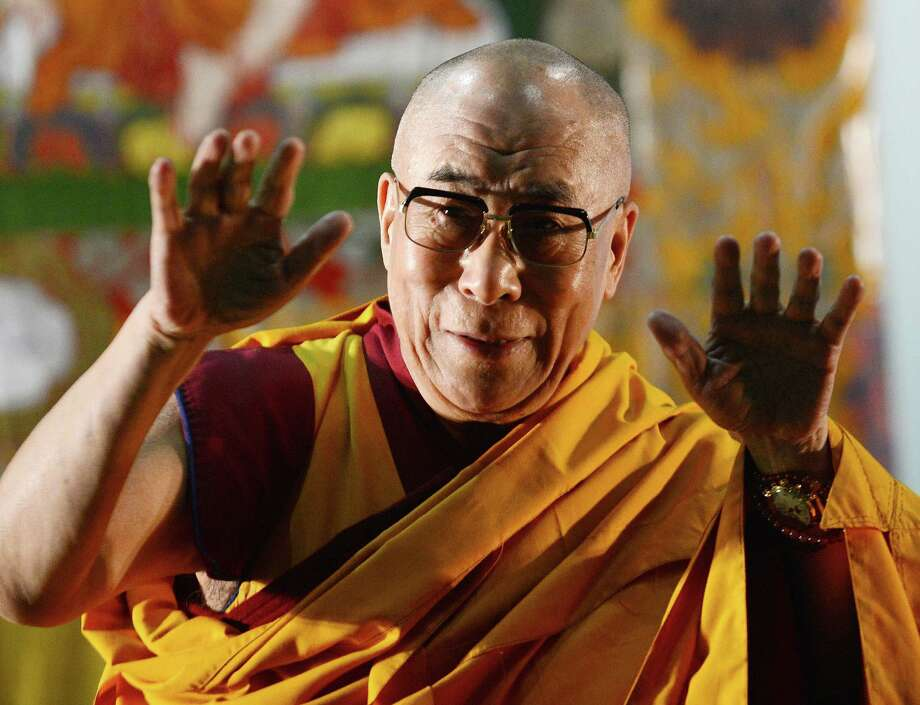 "9. Dalai Lama, 78, spiritual leader of the Tibetan people. ""For over 50 years he has campaigned tirelessly for peace, nonviolence, democracy, and reconciliation, especially among world religions."" Photo: TOSHIFUMI KITAMURA, AFP/Getty Images / AFP"