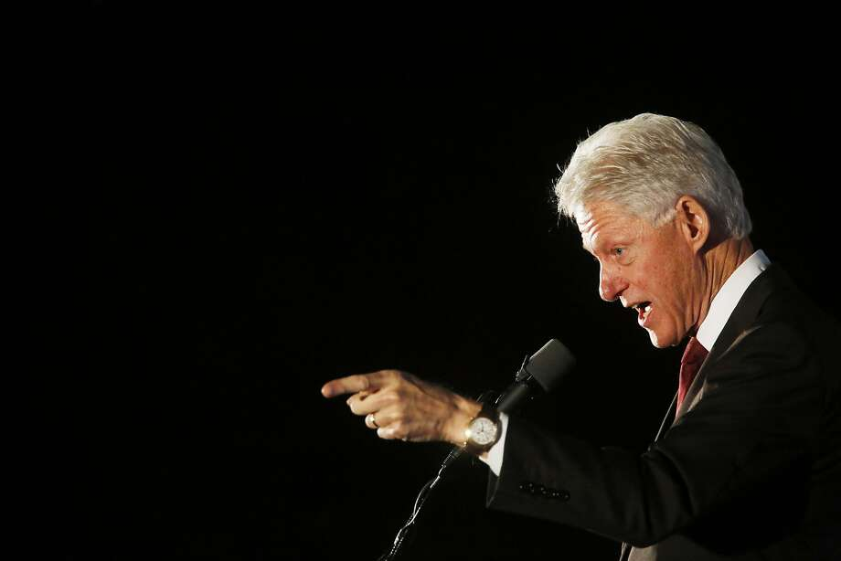 """5. Bill Clinton, 68, founder of The Clinton Foundation (and former president of the United States). """"In the 13 years since he left office, President Clinton has been a relentless and forceful advocate for a number of causes: the fight against HIV/AIDS, malaria, and tuberculosis, and the need to stem greenhouse gas emissions."""" Photo: Luke Sharrett, Getty Images"""