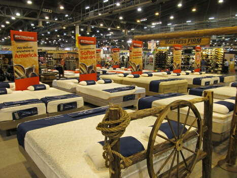 The rodeo: eat a turkey leg, buy a pair of boots, and snag a mattress while you are there.