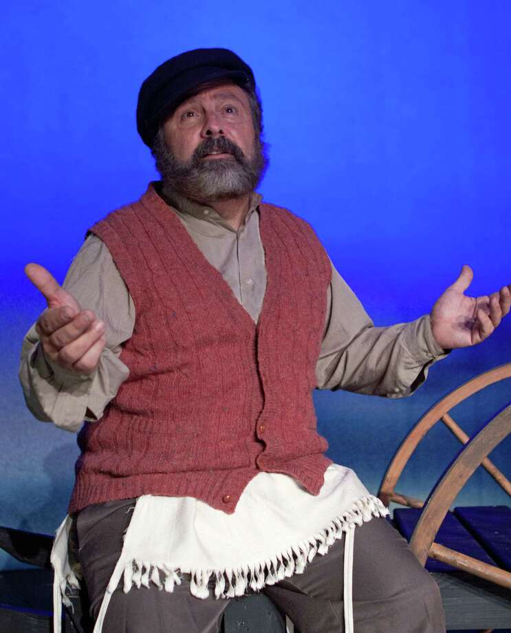 """Curtain Call Executive Director Lou Ursone played Tevye in """"Fiddler on the Roof,"""" at The Kweskin Theatre in Stamford in November. Photo: Contributed Photo, Contributed / Darien News"""