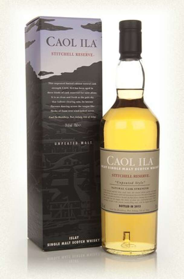 "Caol Ila Stitchell Reserve:  Another Isle of Islay Scotch, this edition of Caol Ila has an ""unpeated"" quality.  It's good, and the price is more within the realm of the possible. $110."