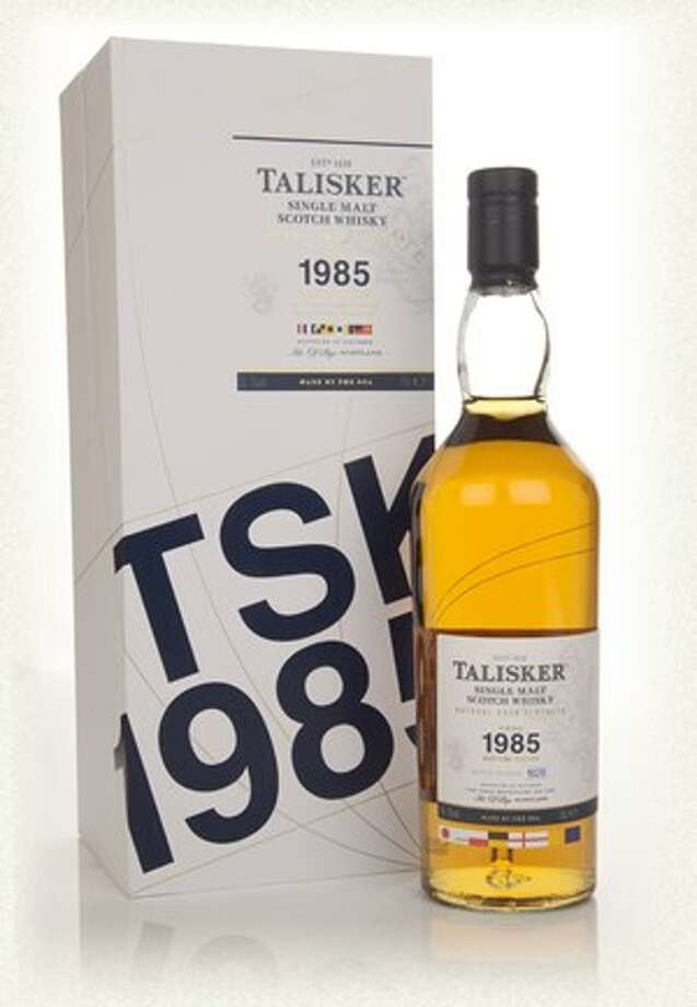 "Talisker 27:  Basically everything you like about Talisker 10, minus every hint of sharpness or discord.  This was bottled in 1985, the year that Aimee Mann observed that ""Voices Carry.""  Delicious. $750"