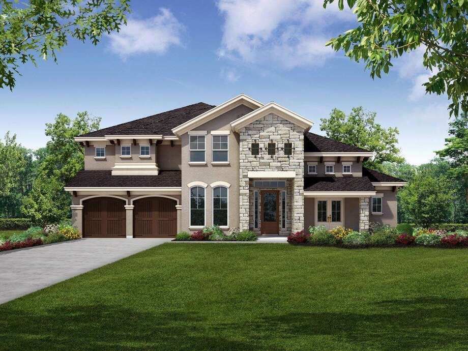 Coventry Homes has opened its first model in Avalon at Spring Green, a gated reserve of 200 homesites, including several lakefront properties. Photo: Courtesy Coventry Homes