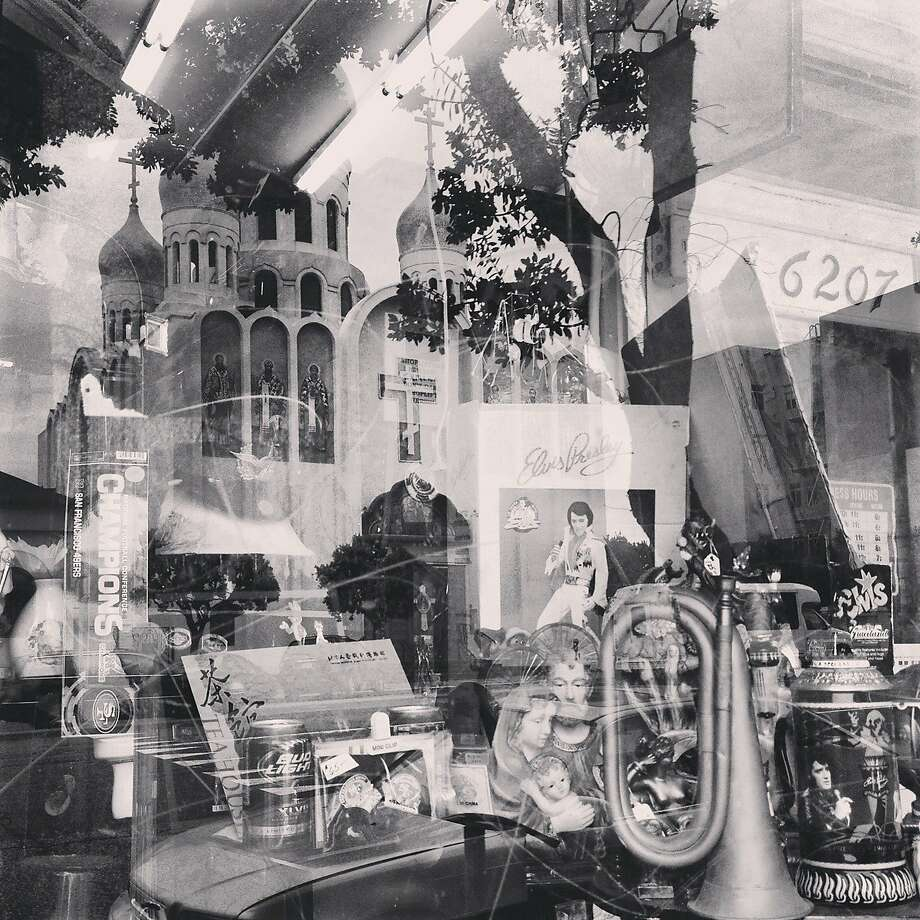 "Photographer Charlotte Fechheimer Picant took this beautiful image of a reflection with an iPhone 4S on Geary Boulevard at 26th Avenue in the Outer Richmond. ""I was walking in my neighborhood looking for a good picture to take when I saw this store, stopped for a minute and then saw the reflection of the Russian church in the background."" Follow her on Instagram @ladurette. If you would like to have your photography of San Francisco considered for publication, please tag it with #howsfseessf when you post it on Instagram. Photo: Charlotte Fechheimer-Picant, Special To The Chronicle"