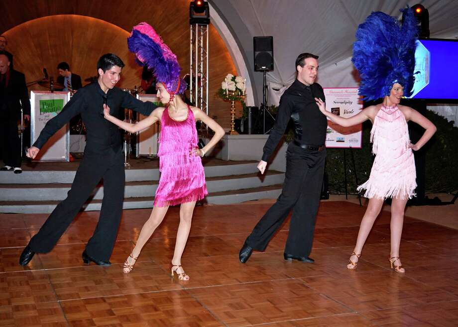 Dancers from The Arthur Murray Grande Ballroom. Photo: Contributed Photo / Greenwich Citizen