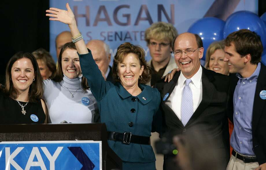 Around $1 million will be spent to help Democratic Sen. Kay Hagan win re-election in North Carolina. Photo: Gerry Broome, AP