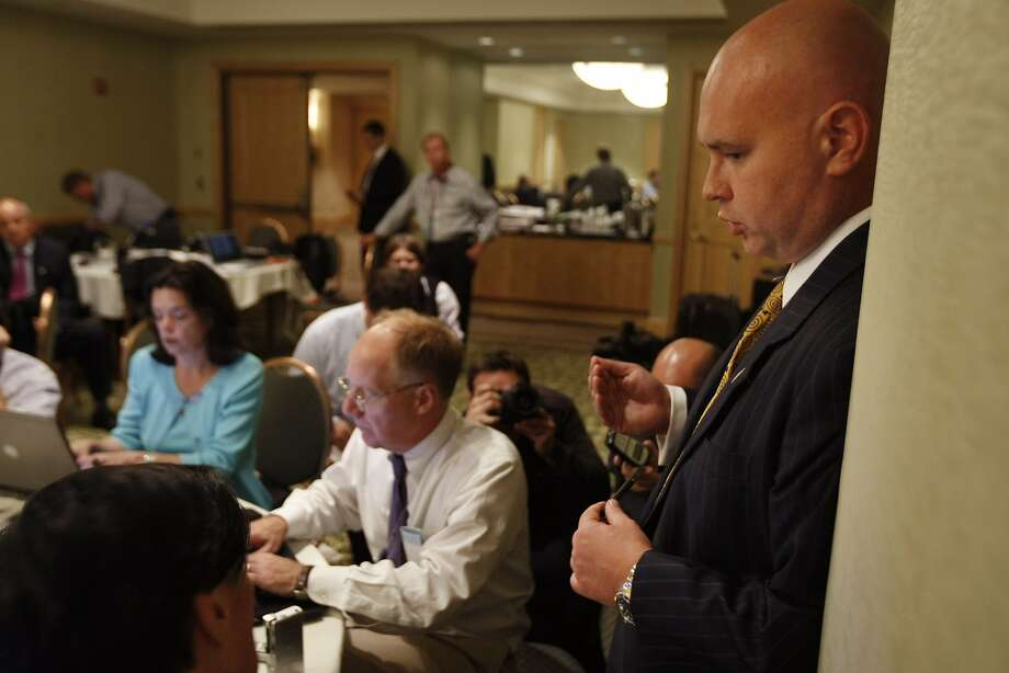 GOP strategist Steve Schmidt (right) warns that party gains in 2014 may mask long-term problems. Photo: Gerald Herbert, AP