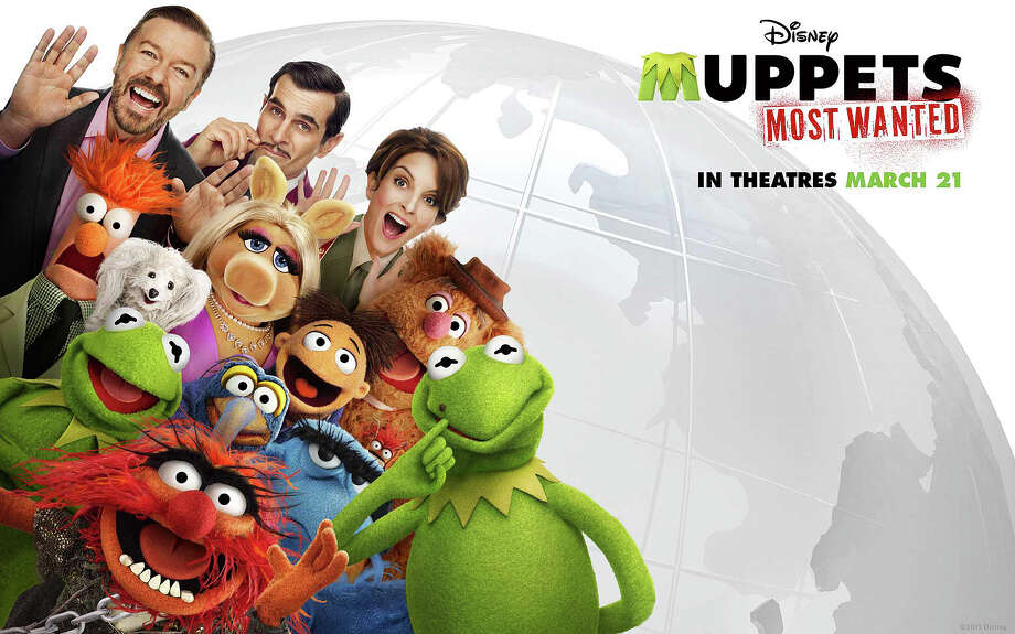 """Muppets Most Wanted"" is the latest big-screen comedy adventure featuring the puppets created by the late Jim Henson. Photo: Contributed Photo / Westport News"