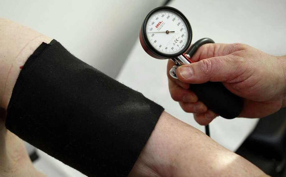 The analysis of 19 studies found that people with pre-high blood pressure were 66 percent more likely to develop a stroke than people who had normal blood pressure. Photo: Associated Press / AP