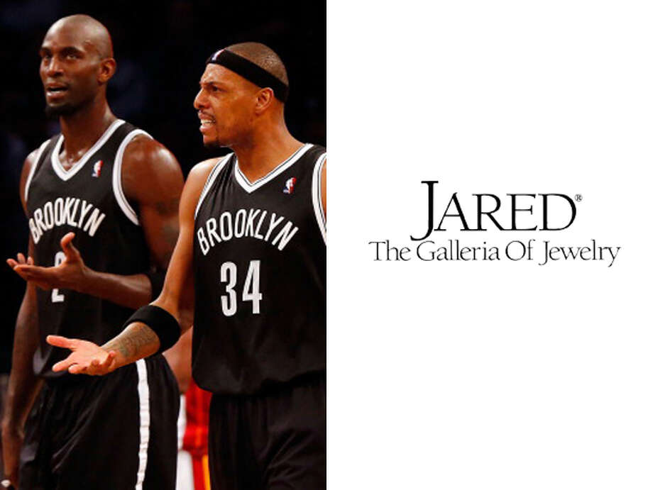 Brooklyn Nets / Jared's: Because all Paul Pierce and Kevin Garnett really want is another ring. Photo: Jim McIsaac, Getty Images / 2014 Jim McIsaac