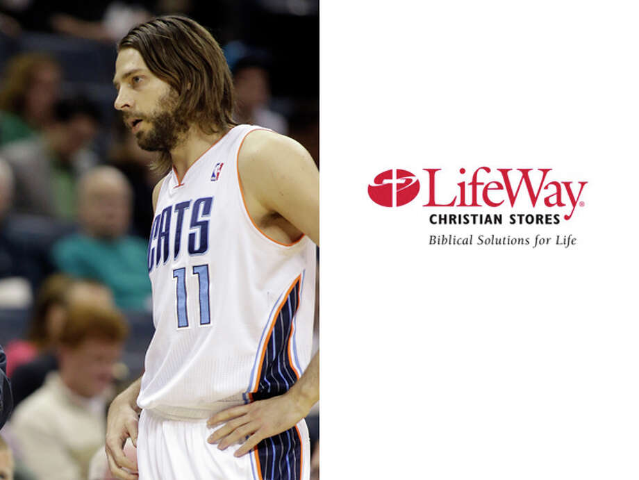 Charlotte Bobcats / LifeWay ChristianBookstores:From a sheer aesthetic standpoint, Josh McRoberts seems like a natural spokesperson for all things New Testament related (i.e. he's kind of rocking the Jesus look). Photo: Bob Leverone, AP / FR170480 AP