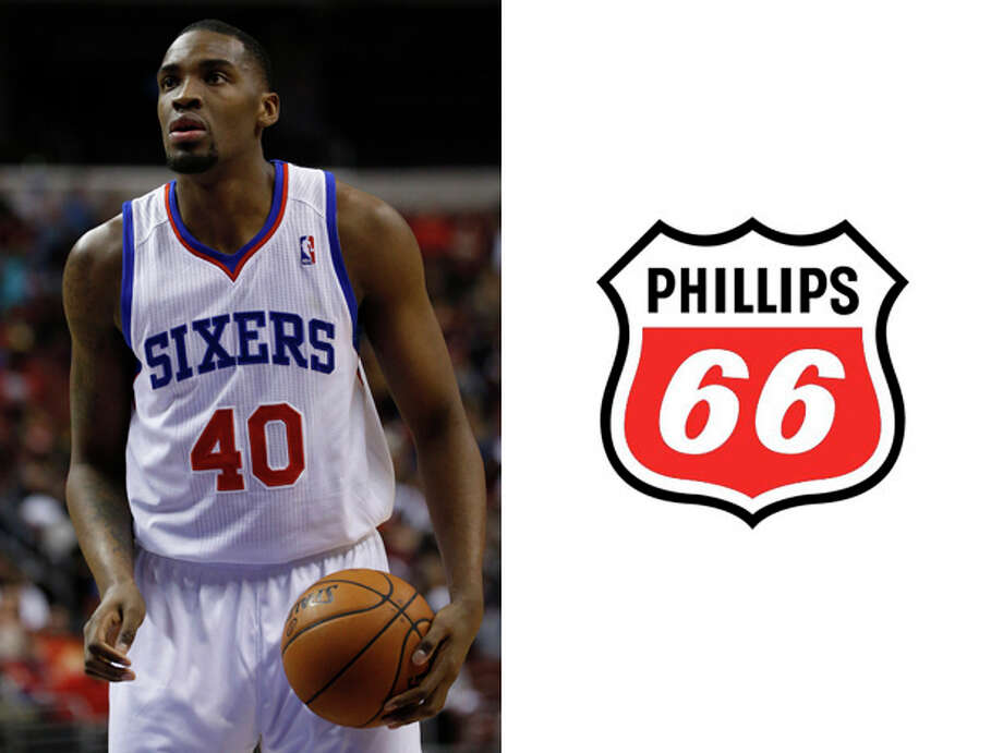 "Philadelphia 76ers /Phillips 66: We just think it would be funny listening to  analyst Charles Barkley bumble his way through 24 different wrong pronunciations of ""Phillips Sixty-Six Phillipdelphia Sixty-Seveners....Philladalips Sixty-Seven Seventy Sixters ...  Phillipsdelphia Phillipty-Sixers ..."" Photo: Matt Slocum, AP / AP"