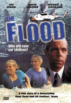 The Flood: Who Will Save Our Children?, 1993, set in Comfort, Texas.  A flood threatens the lives of children in this made-for-TV flick. Lots of children in wet clothes screaming for help.