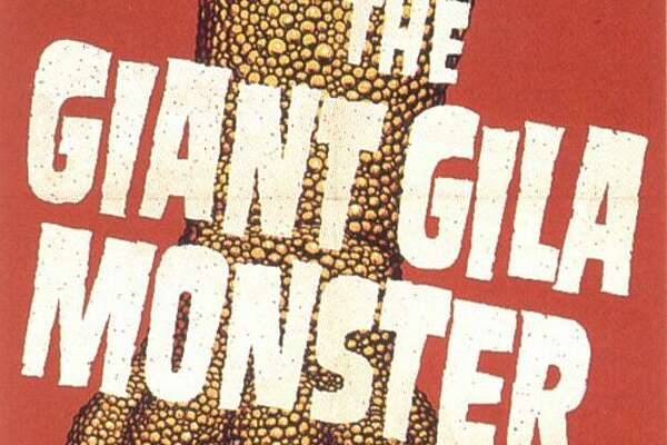 The Giant Gila Monster, 1959, the monster attacks Dallas. Oh no, not Dallas!