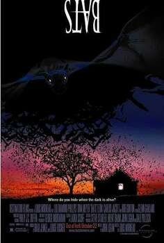 Bats, 1999, Gallup, er Kermit gets batted around.  Bats make life hell for residents in a West Texas town. Lou Diamond Phillips is there to help.