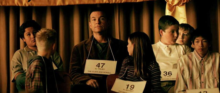 "This photo provided by by Focus Features shows Jason Bateman, center, as Guy Trilby, in the comedy, ""Bad Words,"" a Focus Features release. (AP Photo/Focus Features) Photo: Associated Press / Focus Features"
