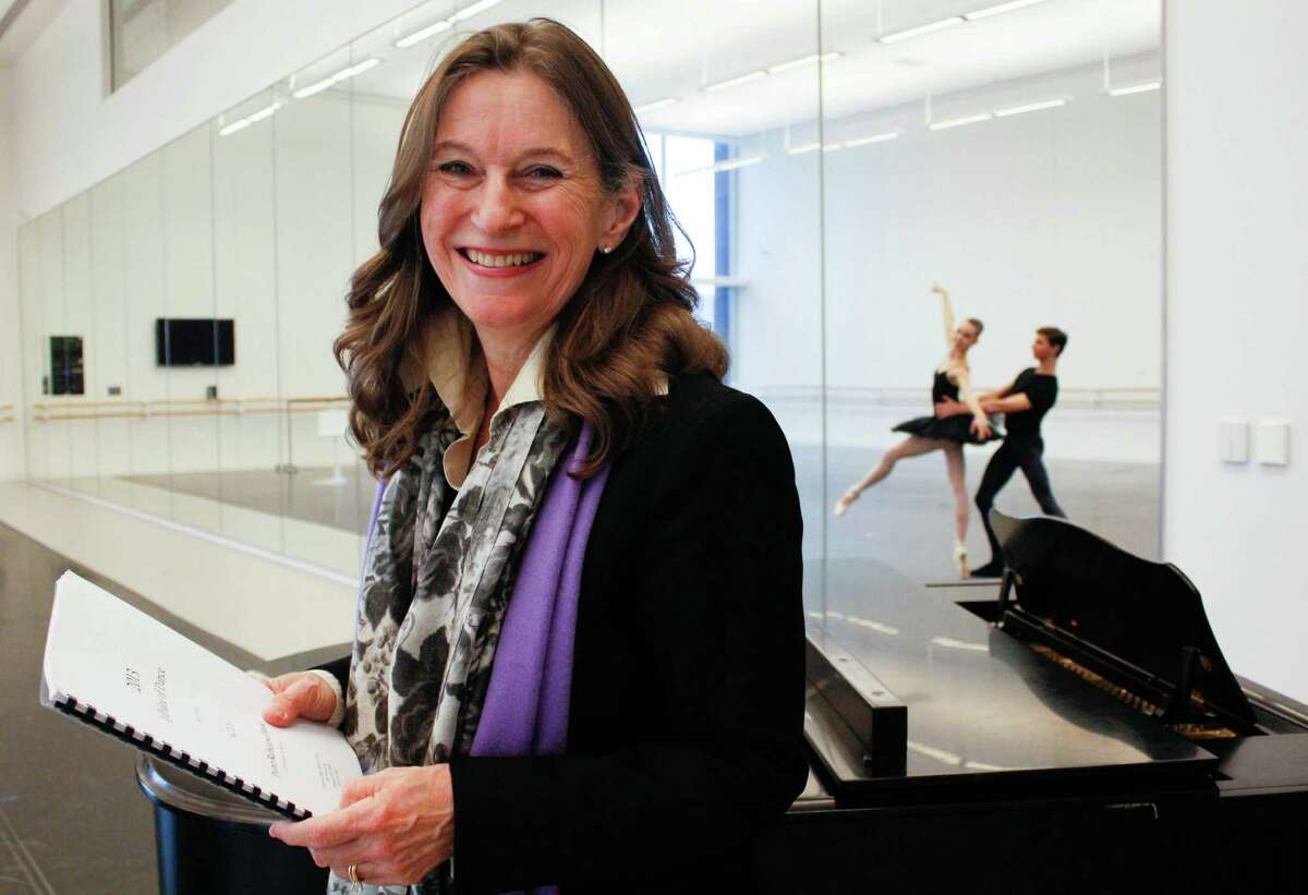 """Jean May says, """"I love the ballet. I love everyone in the ballet, the dancers, the people I've worked with."""""""