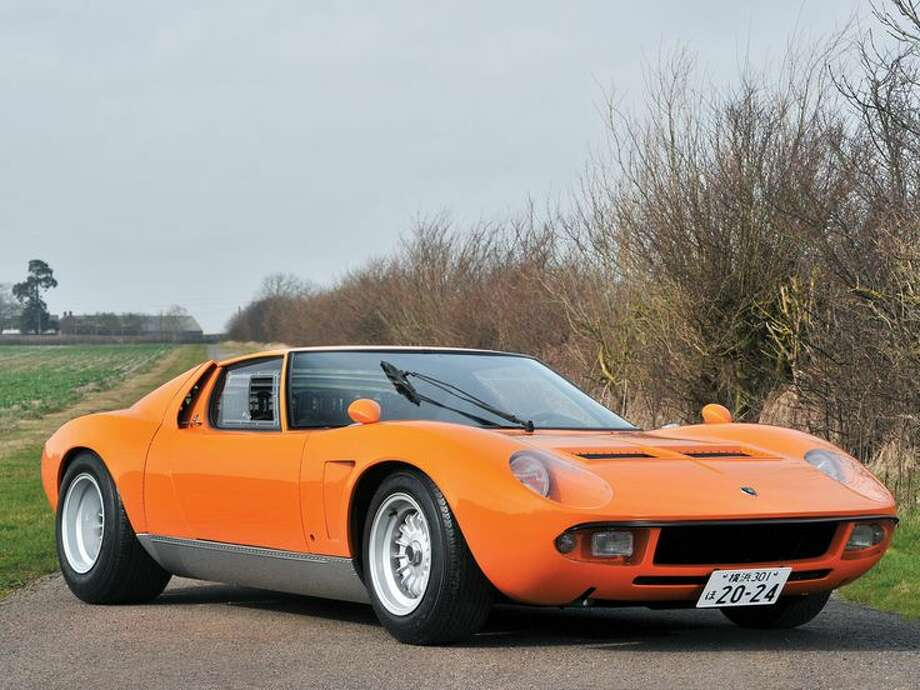 1969 Lamborghini Miura S 'Jota' Photo: Tim Scott, Courtesy Of RM Auctions / Tim Scott ©2014 Courtesy of RM Auctions