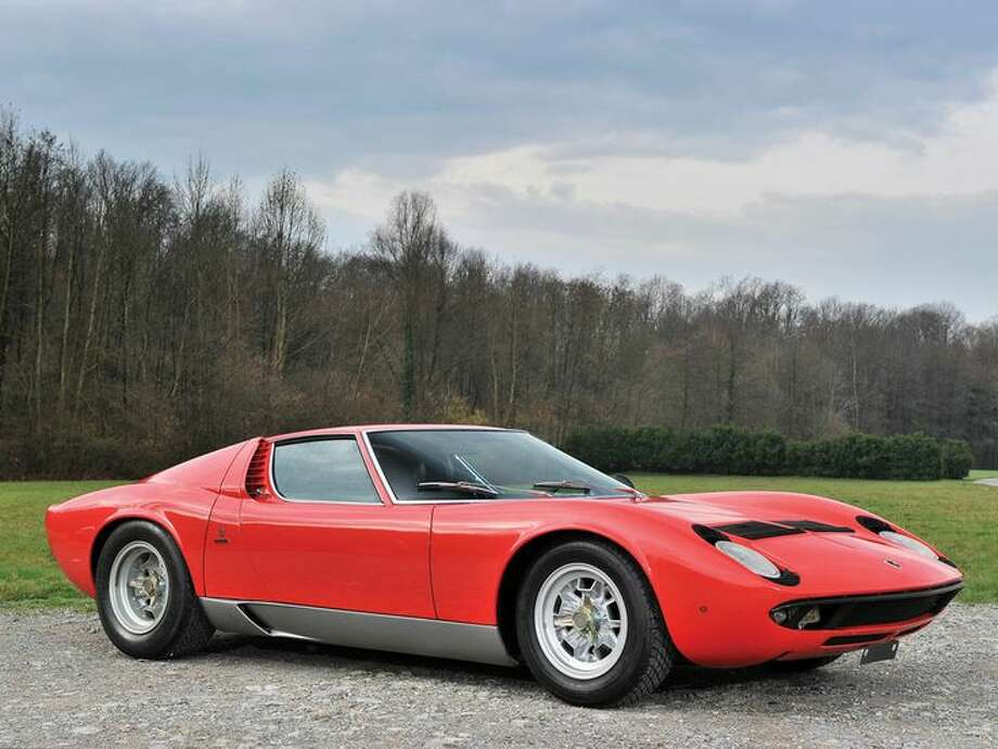 1969 Lamborghini Miura P400S Photo: Tim Scott, Courtesy Of RM Auctions / Tim Scott ©2014 Courtesy of RM Auctions
