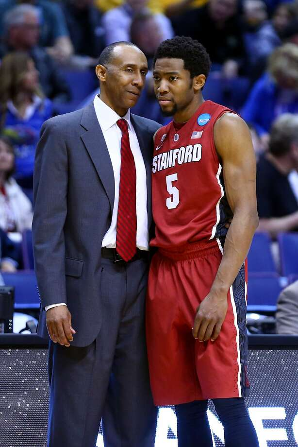 Johnny Dawkins, with Chasson Randle, had been under fire. Photo: Dilip Vishwanat, Getty Images