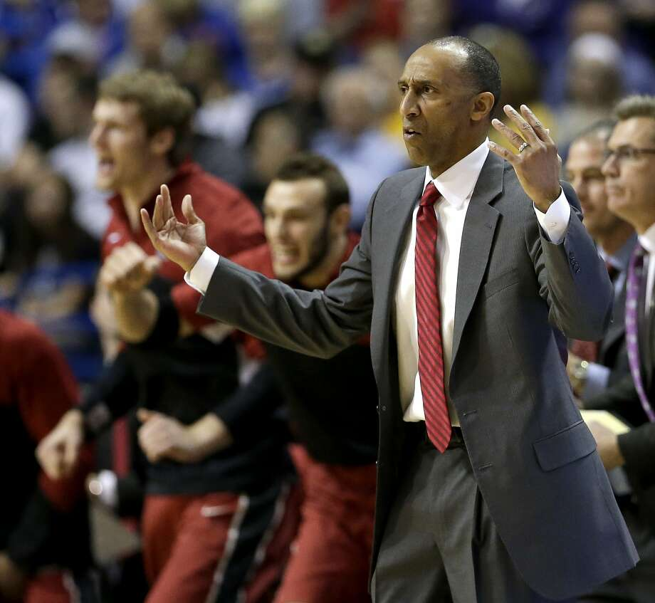 Johnny Dawkins had Stanford well prepared for New Mexico, and an upset of Kansas on Sunday isn't out of the question. Photo: Charlie Riedel, Associated Press